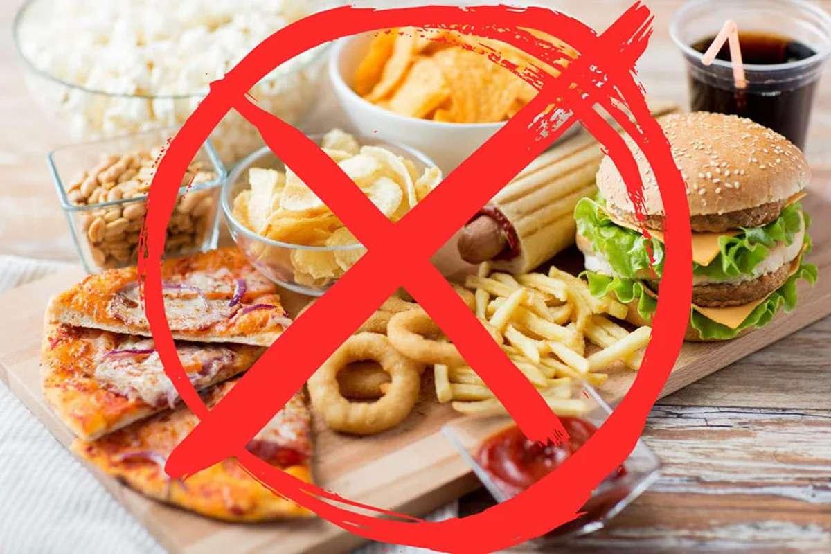 Abur Cubur ve Zararlı Gıdalardan Uzaklaşın